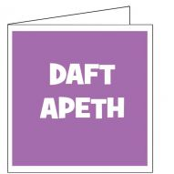 Daft Apeth card