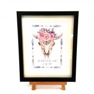 she believed skull frame