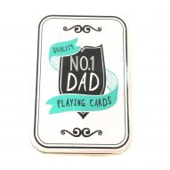 Dad playing cards