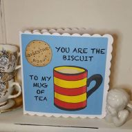 Biscuit to my Mug Card