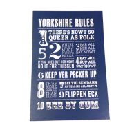 Yorkshire Rules Postcard