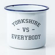 Yorkshire vs everybody enamel mug