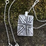 Union Jack Tag Pendant